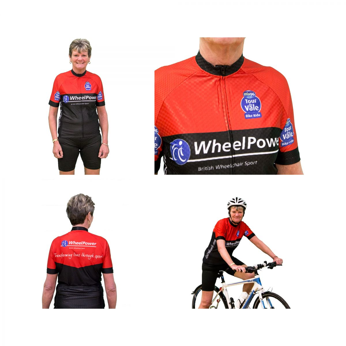Views of new cycle jersey